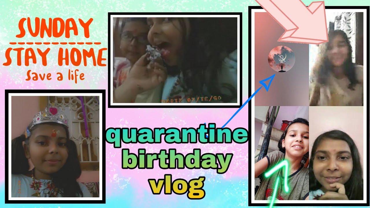 Quarantine birthday vlog   lockdown birthday vlog  