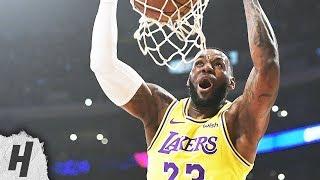LeBron James - Best Dunks of 2018-19 NBA Season Video