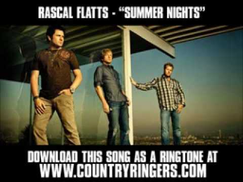 Rascal Flatts-  Summer Nights [ New Video + Lyrics + Download ]