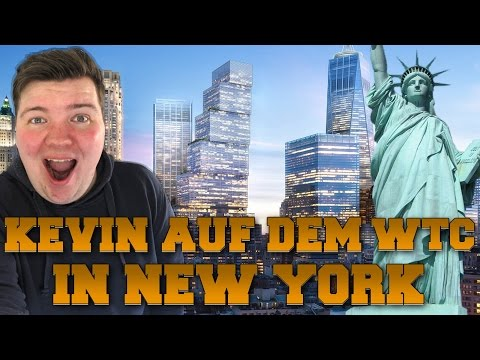 🗽 KEVIN AUF DEM WORLD TRADE CENTER 🗽 NEW YORK CITY VLOG | WORLD TRADE CENTER & UNION SQUARE (DE)