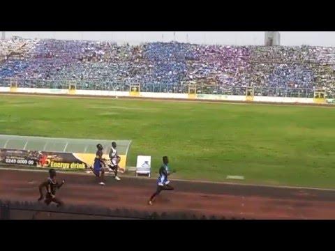 2016 Ashanti Region inter-schools SUZO 100m final