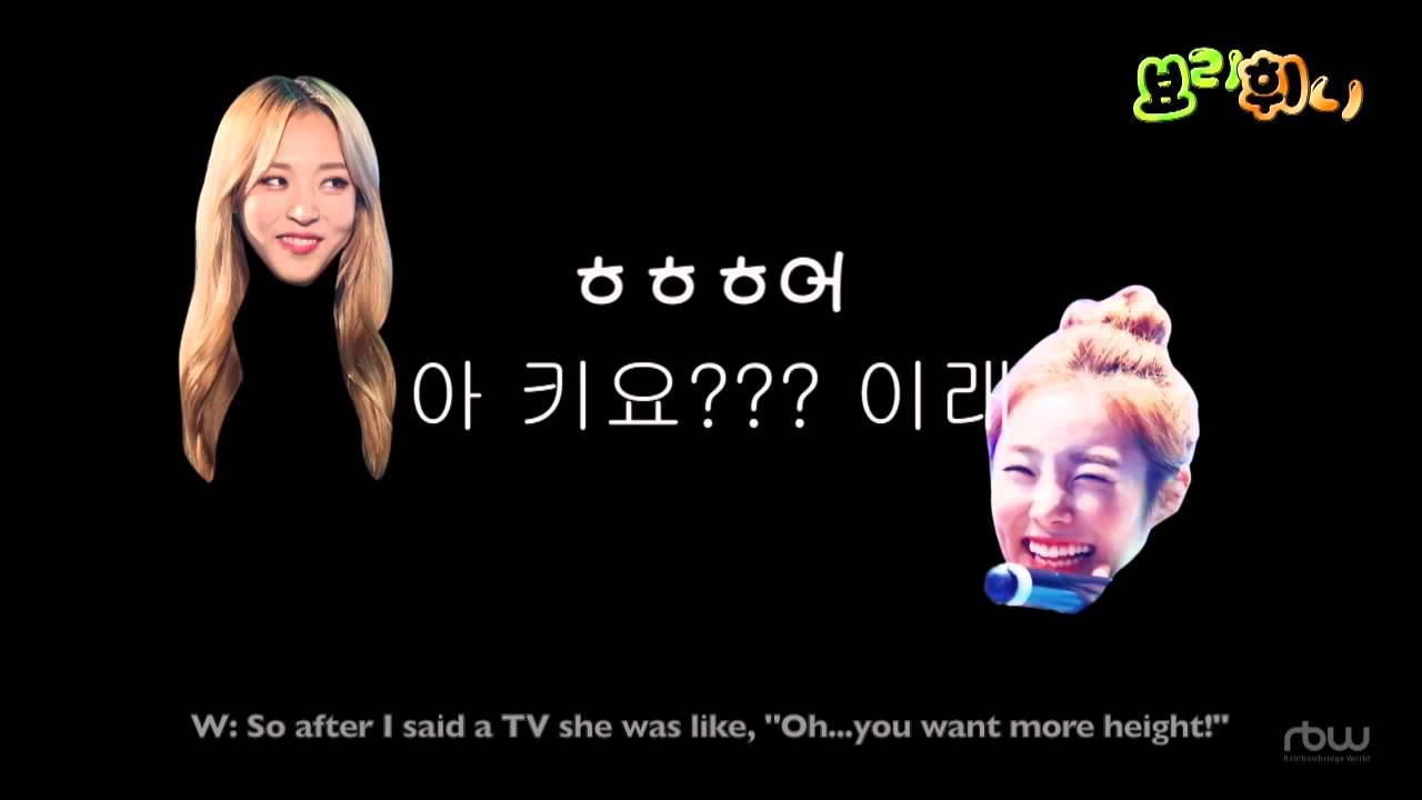 Mamamoo Funny Clip #21- Moonbyul Prank Calls Wheein