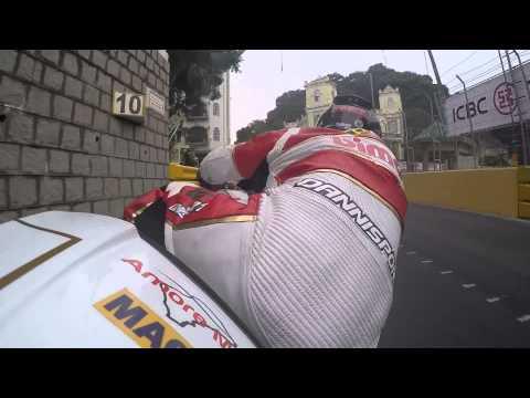 Ben Wylie Bimota Factory Racing Macau 2015