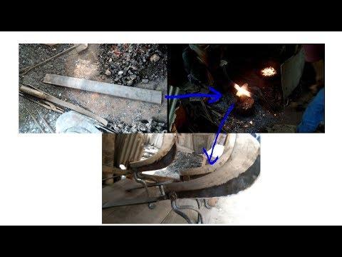 Blacksmithing workshops || How Blacksmith Makes Knife from iron || Blacksmith forged knives for sale