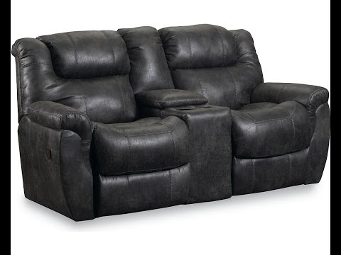 Reclining Loveseat With Console Youtube