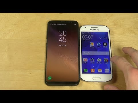 Samsung Galaxy S8 vs. Samsung Galaxy Ace 4 - Which Is Faster?
