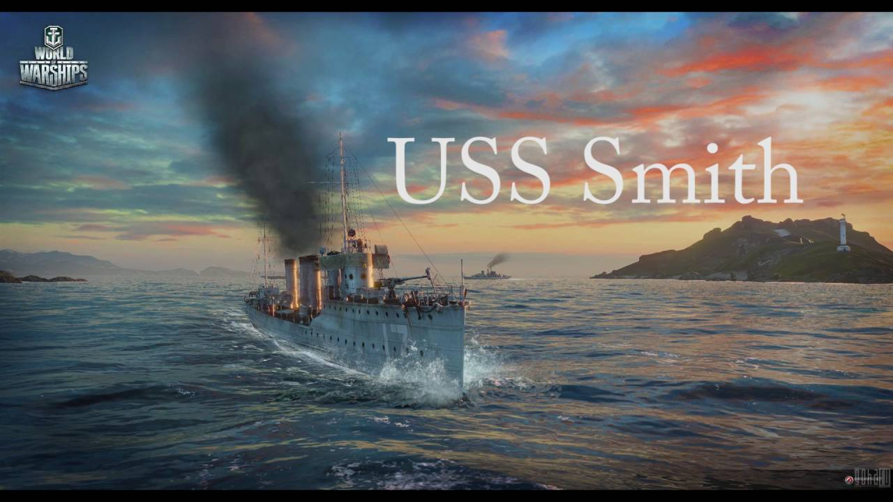 Image result for uss smith wows