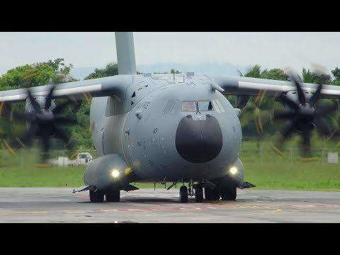 Hangar Spotting 35: Military Aircraft at Piarco (Quad-Jets)
