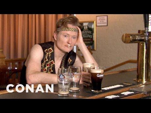 Conan Visits Irish American Heritage Center  CONAN on TBS