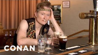 Download Conan Visits Irish American Heritage Center - CONAN on TBS Mp3 and Videos