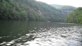 Cruisin on 10hp Old Town Canoe - HD