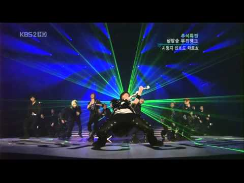 20070902 SuperJuniorDont Don Come back stage HanGeng HD