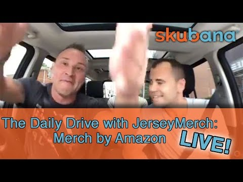 The Daily Drive with JerseyMerch: Merch By Amazon Lessons (LIVE!)
