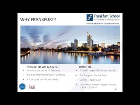 Frankfurt School Webinar 07 06 2016