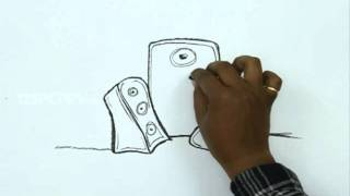 how to draw speakers with microphone