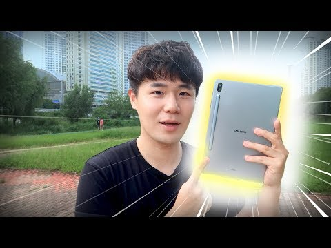 여행할때 삼성 갤럭시 탭 S6가 꼭 필요한 이유! 태블릿의 신세계를 알았습니다ㄷㄷ