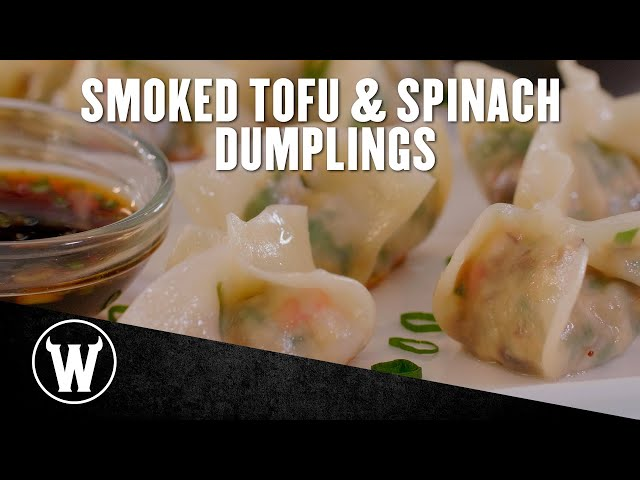 Smoked Tofu & Spinach Dumplings | The Wicked Kitchen
