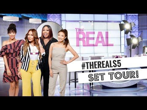 WEB EXCLUSIVE: 'The Real' Season 5 Set Tour!