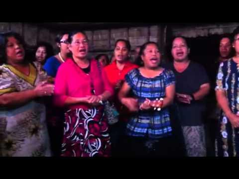 Marshallese Singing on Majuro