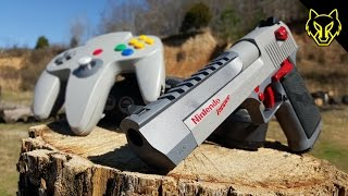 Repeat youtube video N64 vs Nintendo Zapper .50 Cal Desert Eagle