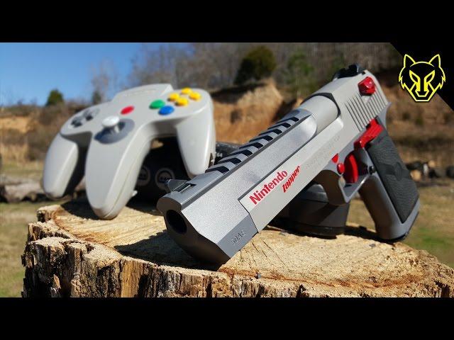 N64 vs Nintendo Zapper .50 Cal Desert Eagle