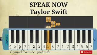 you speak now taylor swift melodika
