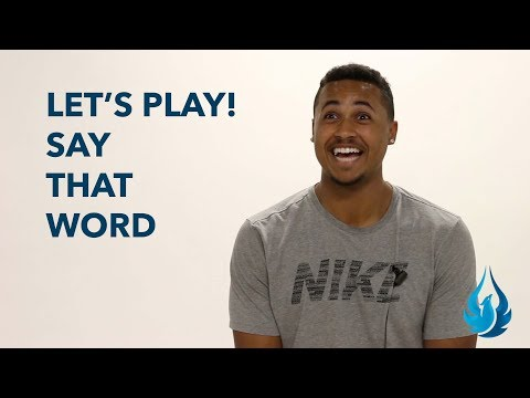 Let's Play! Say That Word