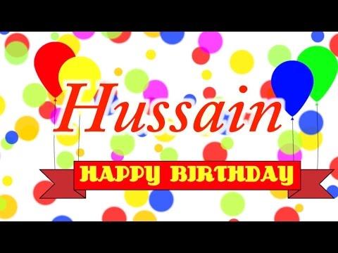 Happy Birthday Hussain Song