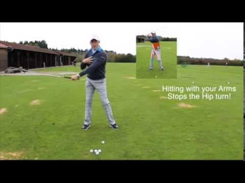 The biggest mistake in a golf swing