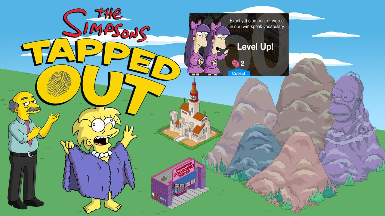 Sign in to simpsons tapped out