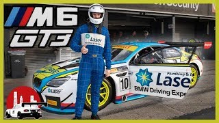 SRM BMW M6 GT3 Racecar Incar @ Sandown Raceway // Steven Richards Motorsport