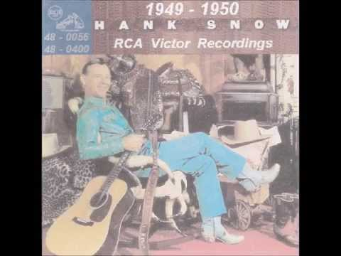 Hank Snow - RCA Victor 45 RPM Records - 1949 - 1950