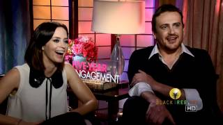 the 5 yr engagement jason segel and emily blunt give dating advice