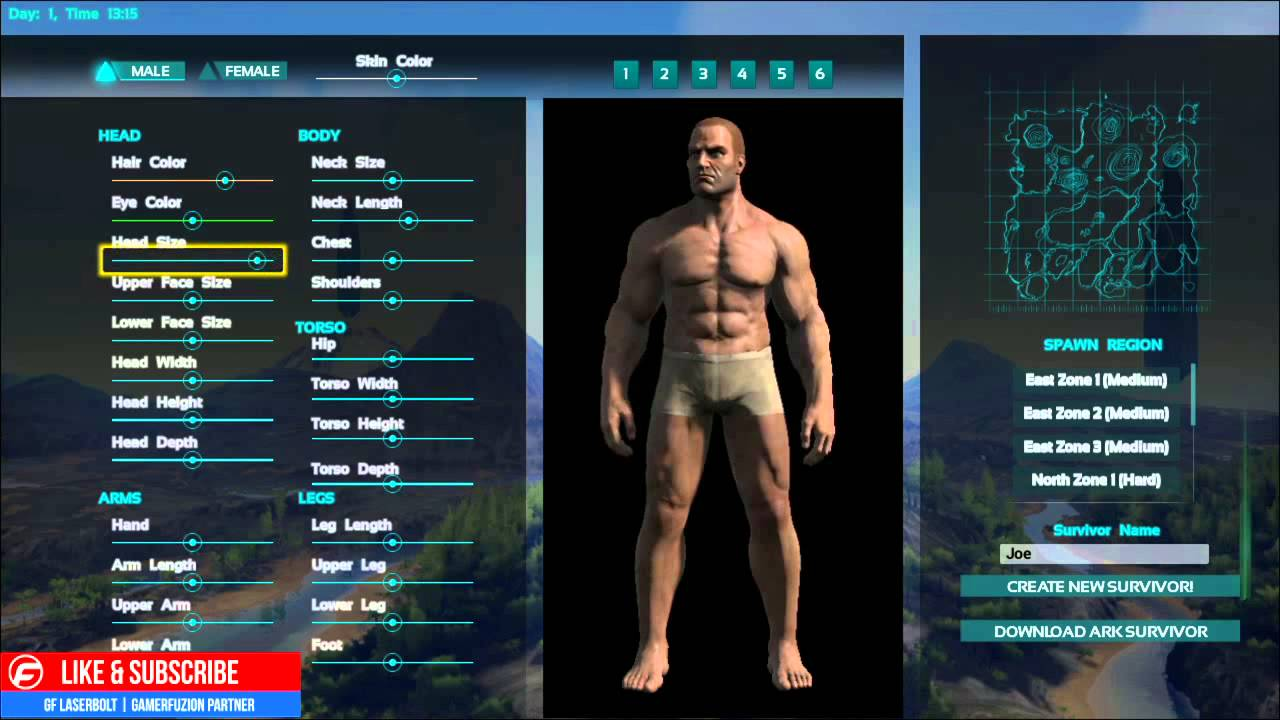 ark survival evolved download character