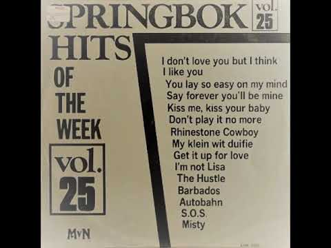 Barbados (Typically Tropical cover) .....  SPRINGBOK HITS OF THE WEEK VOL 25