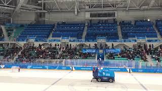 "EXO ""Forever"" played at Pyeongchang Olympics Stadium"