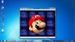 Como baixar, instalar e jogar Super Mario 64 (Windows 7 e XP)