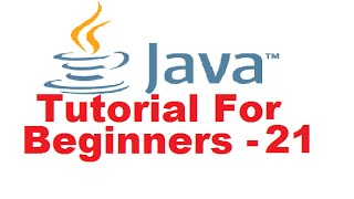 Java Tutorial For Beginners 21 - 'static' keyword in Java