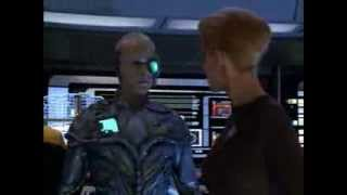Star Trek Voyager Clip: One Enhances Systems