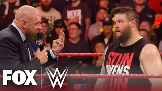 Triple H's recruitment of Kevin Owens to NXT ends in Undisputed Era ambush | MONDAY NIGHT RAW
