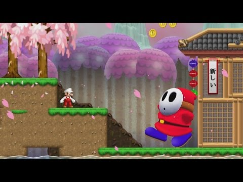 Newer Super Mario Bros. Wii -  Sakura Village (Complete World 4)