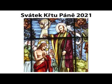 Svátek Křtu Páně 2021
