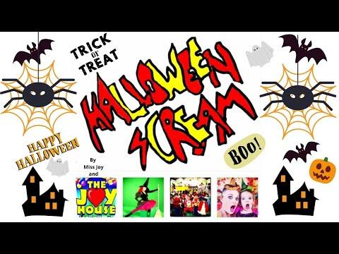 2013 The Joy House Halloween Medley with Miss Joy Part 2 at Kinderchicks Pre School