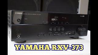 checando amplificador yamaha rx v373