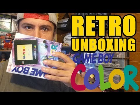 CVG - Retro Unboxing - Nintendo Game Boy Color