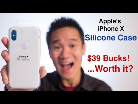 Apple iPhone X Silicone Case Review | NOT compatible with Whitestone Dome Glass Screen Protector
