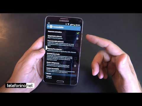 Samsung Galaxy Note 3 videopreview da Telefonino.net