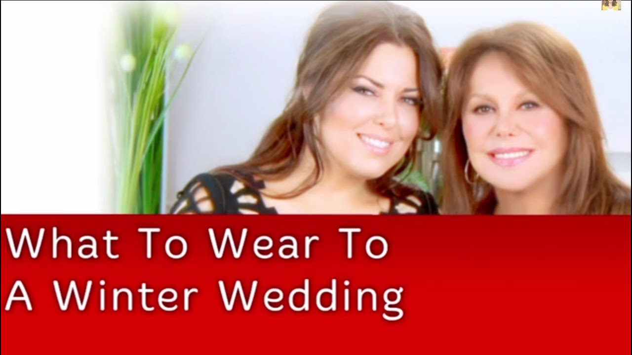 d7162dc5c241 What To Wear To A Winter Wedding | Bobbie Thomas - YouTube