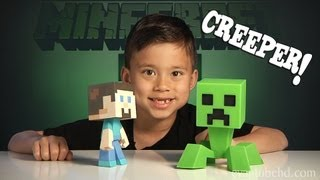 MINECRAFT CREEPER Vinyl Figure!!! Unboxing & Review