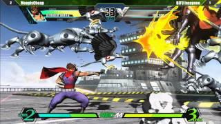 Ultimate Marvel vs Capcom 3 Pool Qualifier Matches Part 1 - Northeast Championships 14